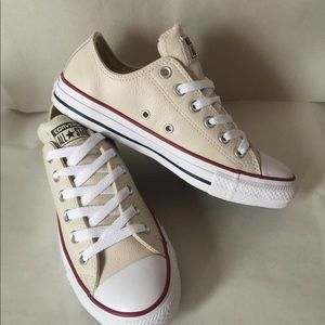 Leather Converse Chuck Taylor All Star Low Top